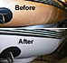 Inflatable boat restoration paint